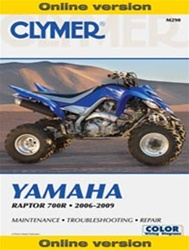 Clymer Yamaha Raptor 700 Repair Manual