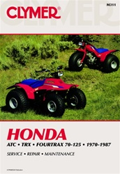 Clymer Honda ATC - TRX - Fourtrax Repair Manual