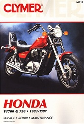 Honda VT700, VT750 Shadow Manual