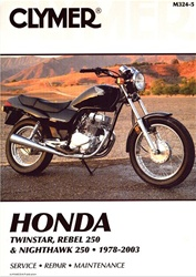 Honda Twinstar, Rebel 250 and Nighthawk 250 Manual