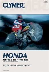 Clymer Honda ATC 185 - ATC 200 Repair Manual
