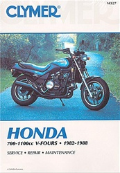 Honda VF700, VF750, V45, VF1100, V65, Sabre, Magna Manual