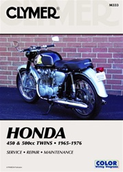 Honda 450 & 500cc Twins Manual