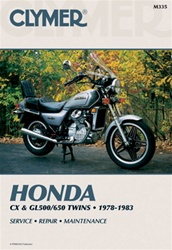 Honda CX and GL500/650 Twins Manual