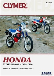 Honda XL500, XR500, XL600, XR600 Manual