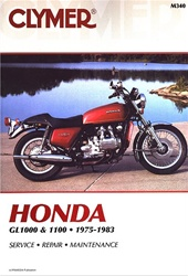 Honda GL1000 and GL1100 Goldwing Manual