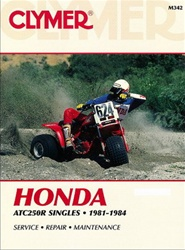 Clymer Honda ATC 250R Repair Manual