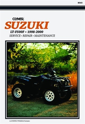 suzuki ltf500f quadrunner manual 500 repair service shop rh themanualstore com Suzuki Quadrunner 500 Suzuki King Quad 500