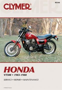 M344 2 honda vt500 manual service repair owners