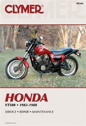 Honda VT500 Manual