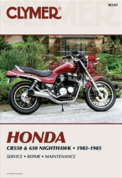 Honda CB550 - CB650 Nighthawk Manual
