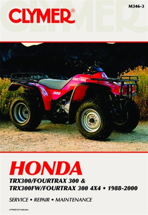 honda trx 300 manual fourtrax repair service shop rh themanualstore com