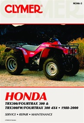 Clymer Honda TRX 300 - Fourtrax Repair Manual