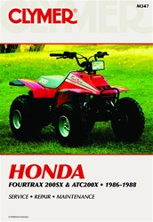 Clymer Honda 200SX - ATC 200X Repair Manual