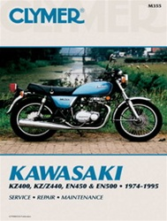 Kawasaki KZ400, KZ/Z440, EN450 and EN500 Manual
