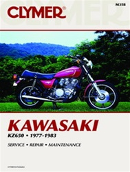 Kawasaki KZ650 Manual