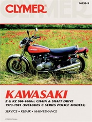 Kawasaki Z & KZ 900-1000cc Chain & Shaft Drive Manual