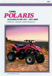 Clymer Polaris Scrambler 500 4x4 Repair Manual