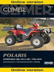 Polaris Sportsman Repair Manual for 400, 450 and 500 Models