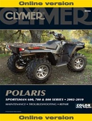 Polaris Sportsman Manual for 600, 700 and 800 Models