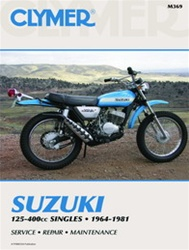 Suzuki 125-400cc Singles Manual