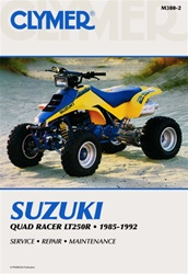 Clymer Suzuki Quadracer lt250 Repair Manual