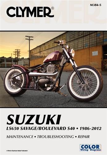 suzuki boulevard s40 - savage ls650 manual