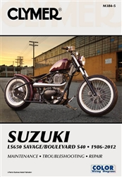 Suzuki Boulevard S40 - Savage LS650 Manual