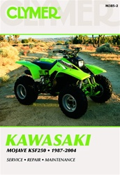 Clymer Kawasaki Mojave KSF250 Repair Manual