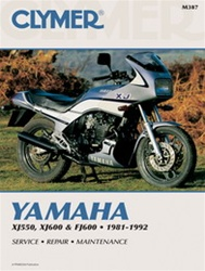 Yamaha XJ550, XJ600 and FJ600 Manual