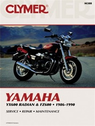 YamahaYX600 Radian and FZ600 Manual