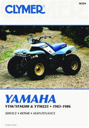 Clymer Yamaha Blaster Repair Manual