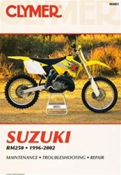 Suzuki RM250 Manual