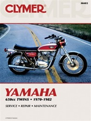 Yamaha Yamaha 650cc Twins Manual