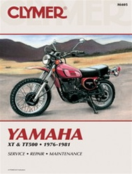 Yamaha XT500 and TT500 Manual