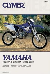 Yamaha YZ250F and WR250F Manual