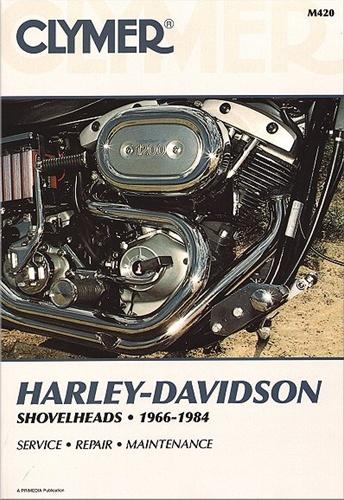 Harley Davidson Shovelhead Repair Manual 1966-1984 on