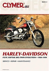 Harley Davidson FX / FL Softail Big-Twin Evolution Service and Repair Manual