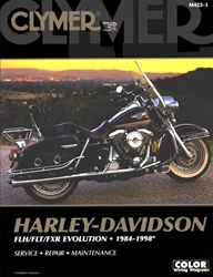 Harley Davidson Evolution  Service and Repair Manual (FLH, FLT, FXR)