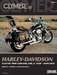 Harley Davidson FLS/FXS Twin Cam 88B, 95B, 103B Repair Manual 2000-2005