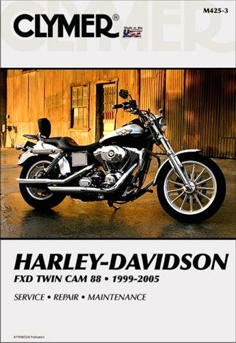Harley Davidson FXD Twin Cam Repair Manual 1999-2005