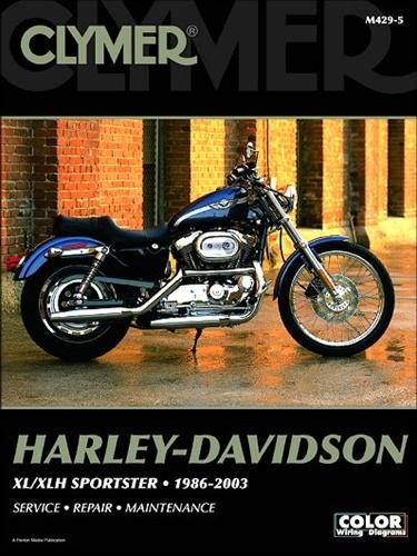 Harley Davidson Sportster  Xl  Xlh  Service And Repair Manual  1986