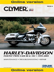 Harley Davidson Harley Davidson FLH, FLT Twin Cam Service and Repair Manual