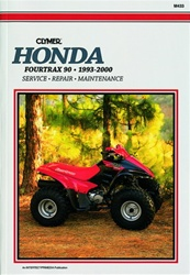 Clymer Honda Fourtrax 90 - TRX90 Repair Manual