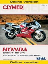 Honda CBR 600 Manual