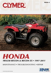Clymer Honda TRX 250 - Recon ES Repair Manual