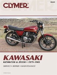 Kawasaki KZ500/550 and ZX550 Manual