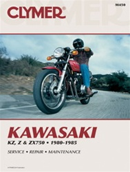 Kawasaki KZ, Z and ZX750 Manual