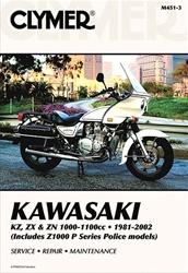 Kawasaki KZ1000, KZ1100, ZX1100, Z1100, ZN1100, Z1000 Police Manual