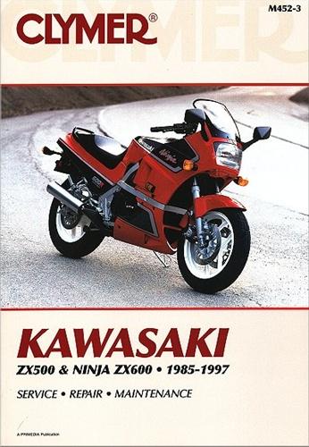 Kawasaki Ninja Manual (ZX500, ZX600) 1985-1997 on